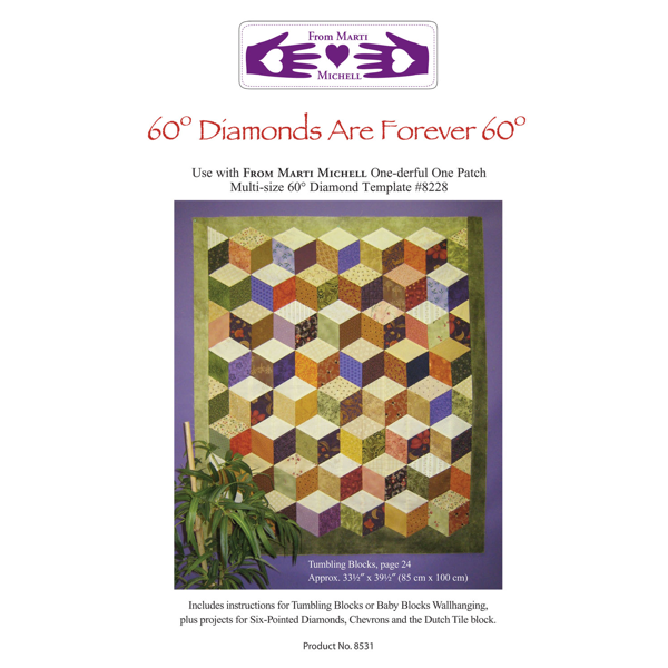 marti midhell 60-degree Diamonds are Forever,Pattern