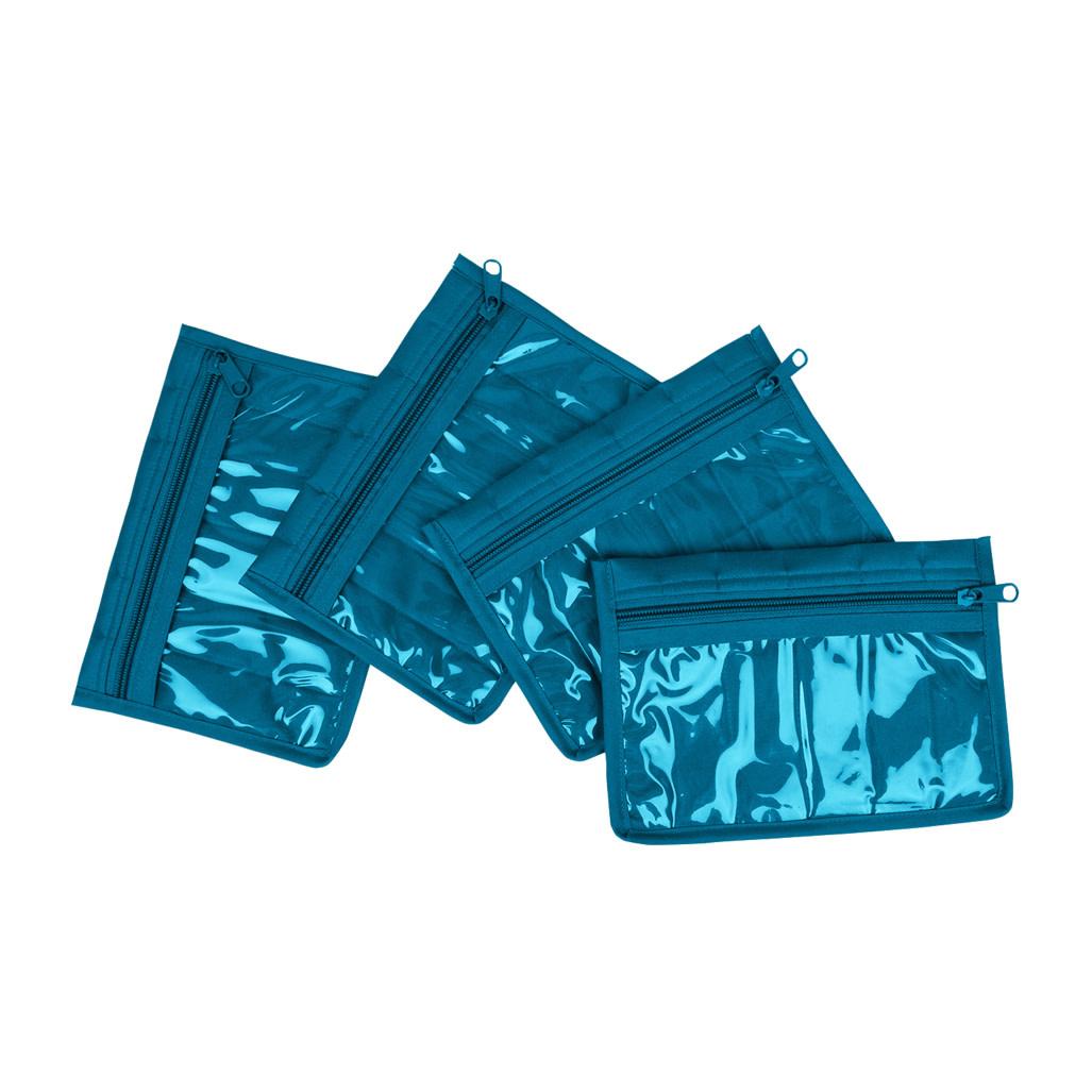 Yazzi 4 Pocket Organizer-Aqua
