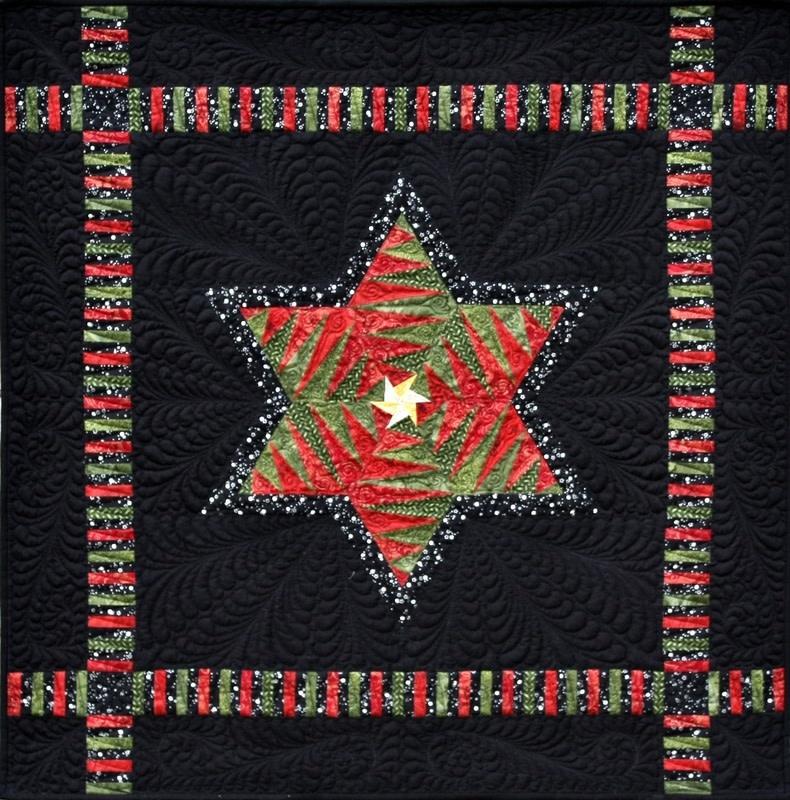 qbfabrics Christmas Dreams & Heavens Light - Paper Piecing Pattern