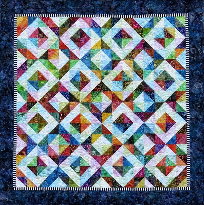 qbfabrics Better Together - Foundation Paper Piecing Pattern