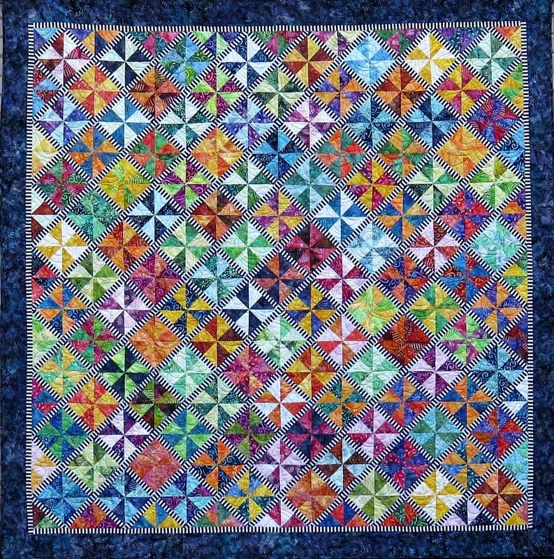 Carousel - Paper Piecing Pattern