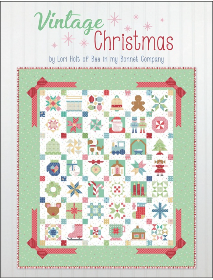 it s sew emma Book Vintage Christmas by Lory Holt