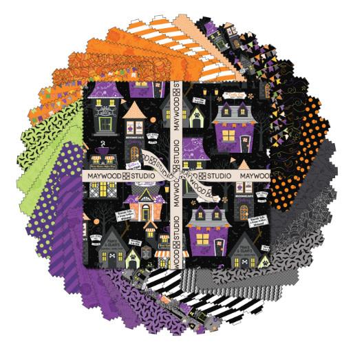"Maywood 10"" Squares Hometown Halloween! (42pc)"