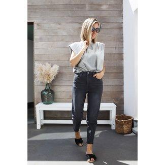 Mom Jeans grey