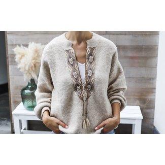 LaraCR knit pullover