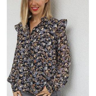 SS flower blouse