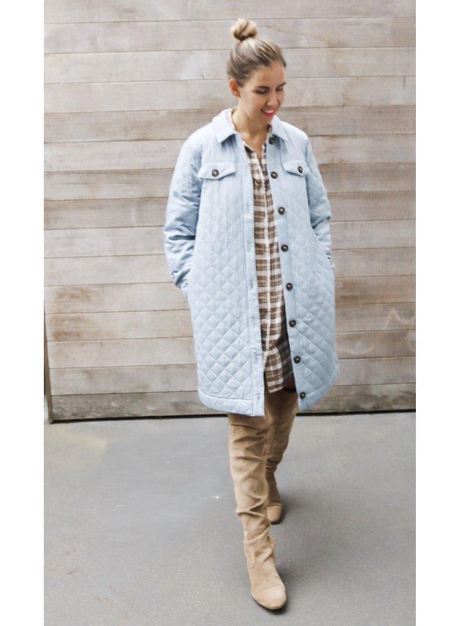 Chenea long hacket coat