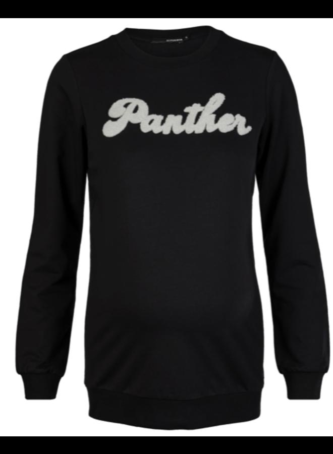 Sweater ls Black Panther