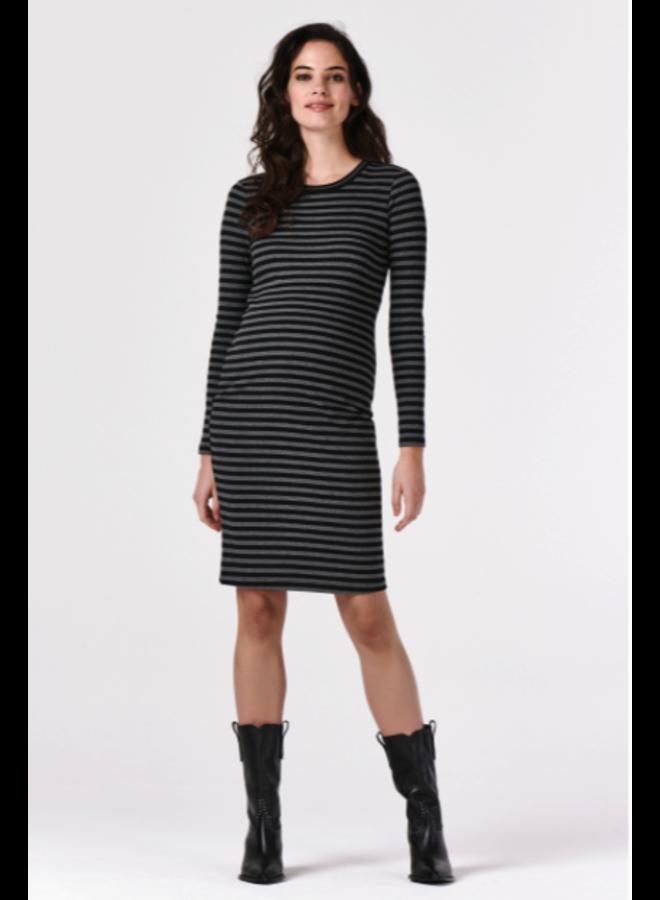 Dress ls Stripe