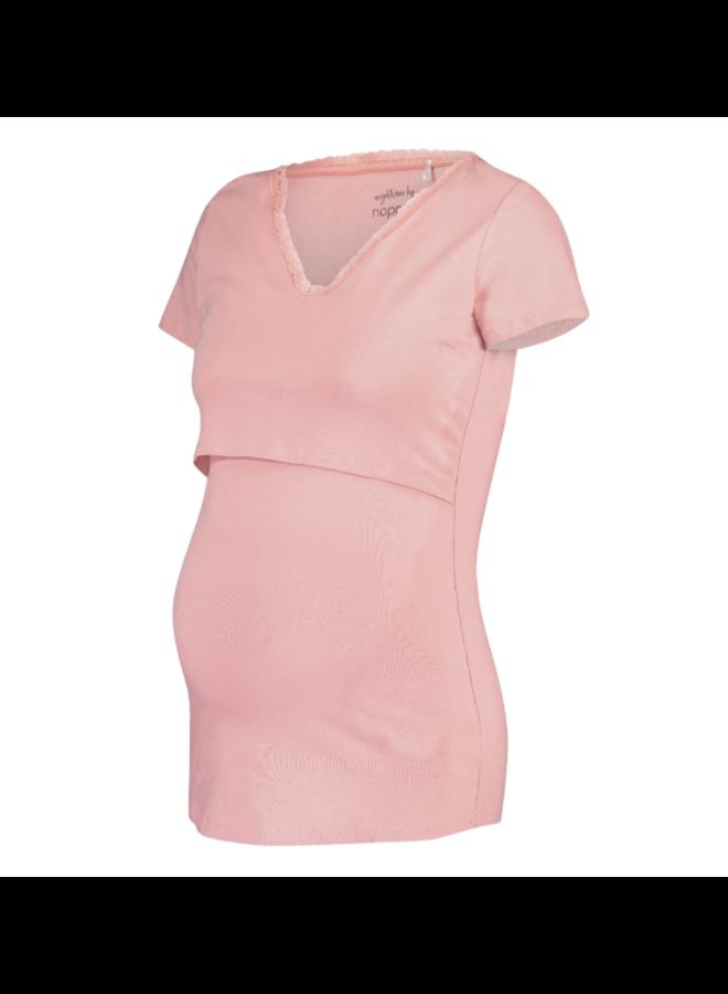 top nursing floor solid pink