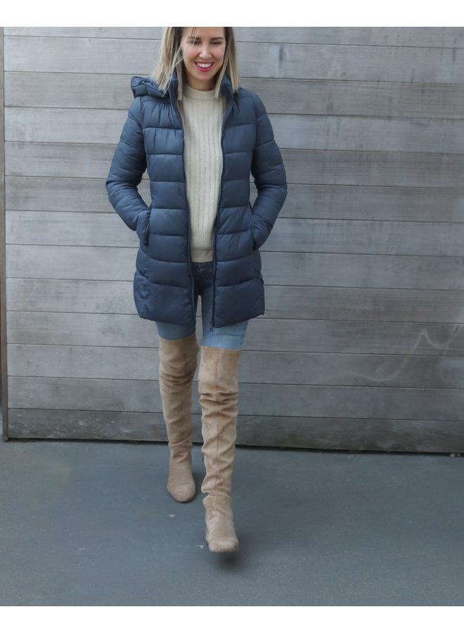 Coat Puffer blue