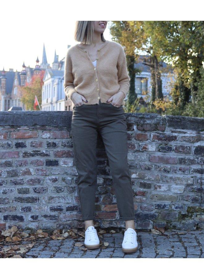 Mom jeans khaki new