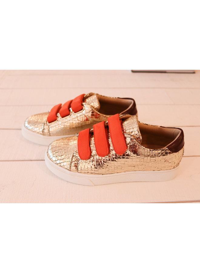 Sneakers golden fever