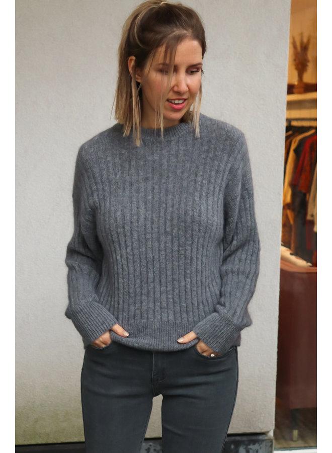 Knit Juliette greyish