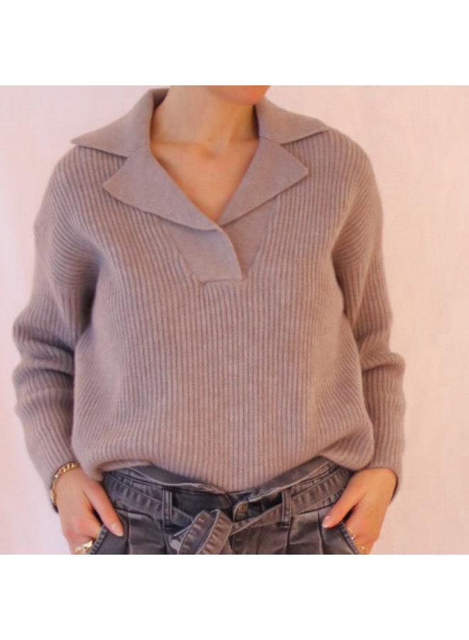 Knit Micky greyish
