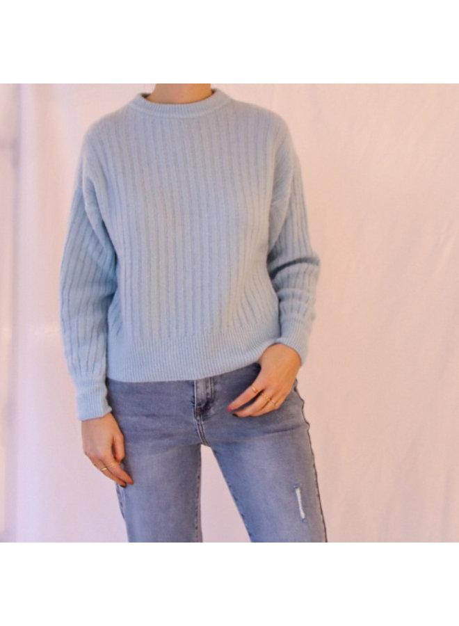 Knit Juliette blue