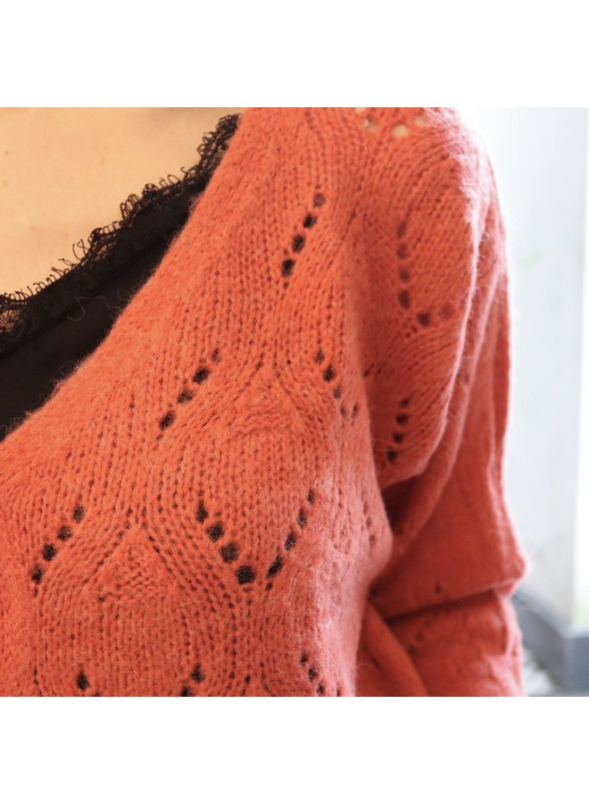 Knit Philippe orange