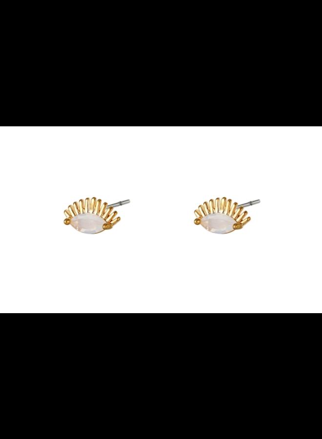 Earrings eye studs