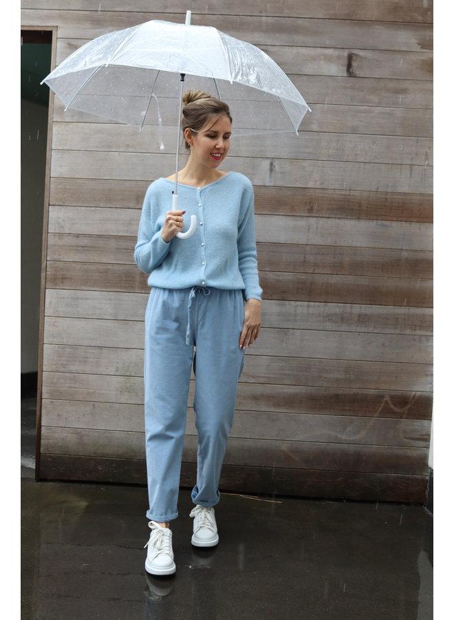 Pants Gaspar pastel blue