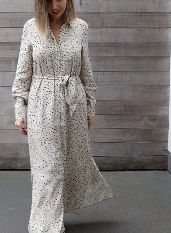 Florenta ankle shirt dress
