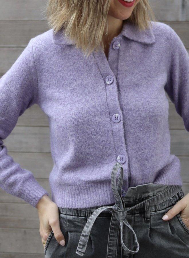 Yasjade cardigan lavender