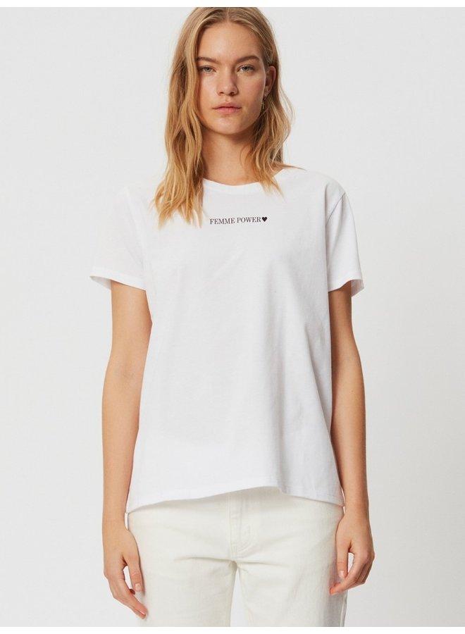 T-shirt SS femme power