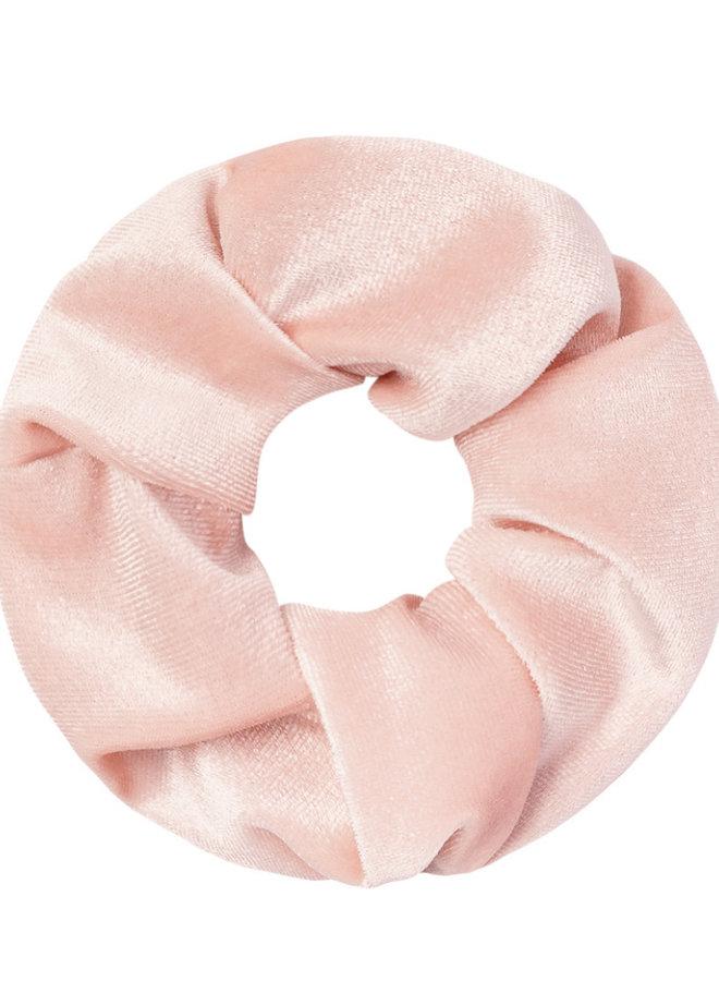Scrunchie pink velvet