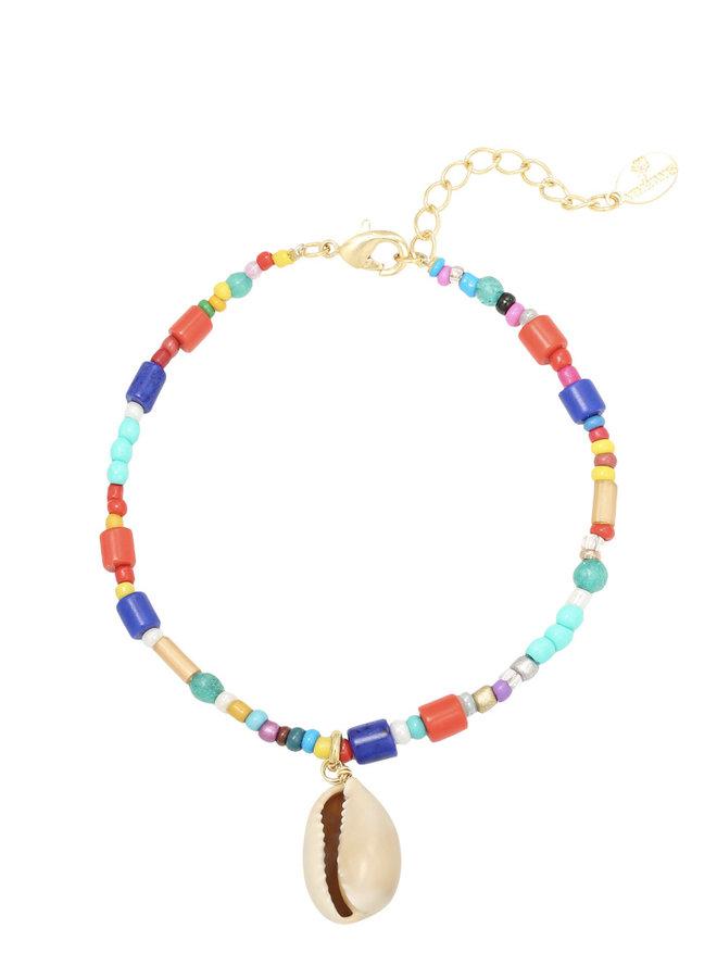 Bracelet beach multicolor