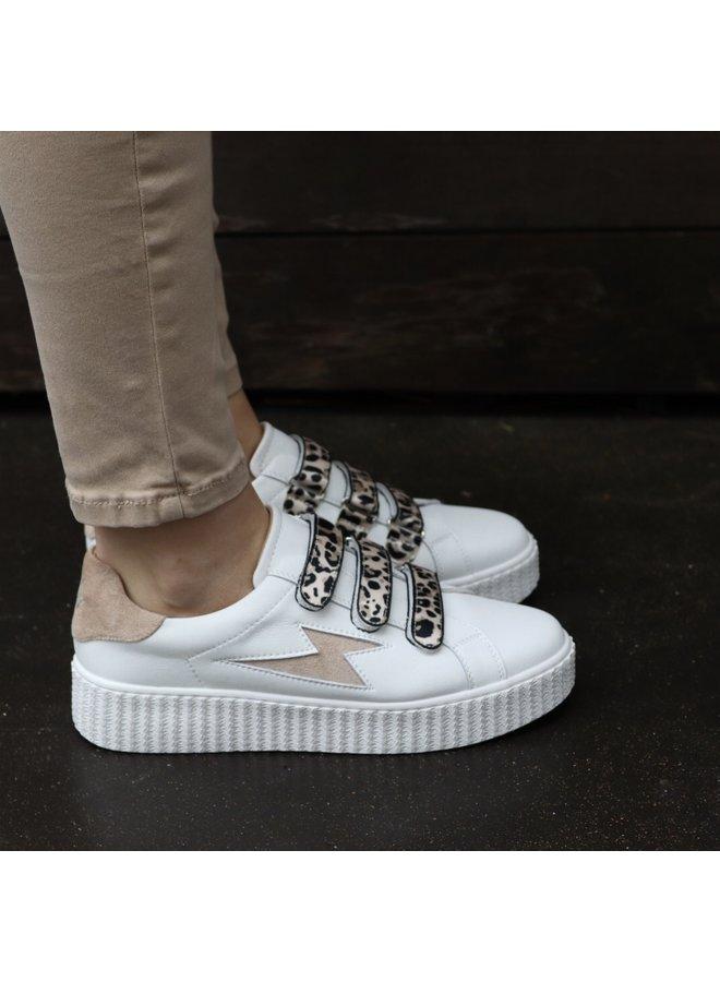 Sneakers beige lightning