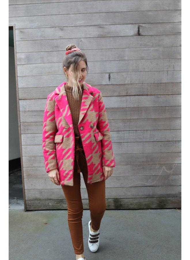 Coat Alex fuchsia