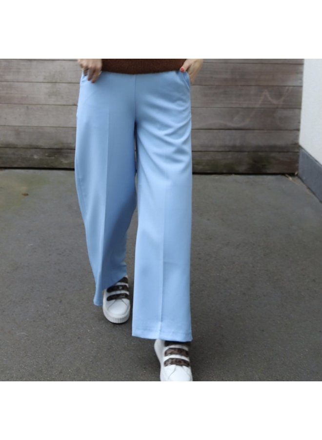 Pants flair baby blue