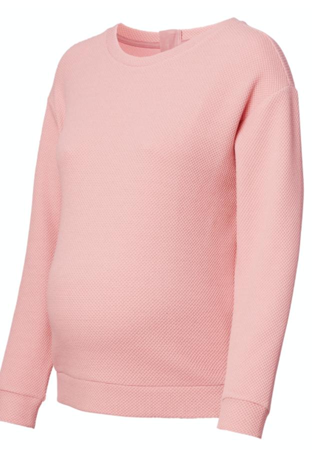 Sweater is Aimee rose tan