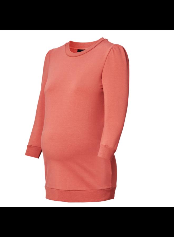 Sweater 3/4 marsala