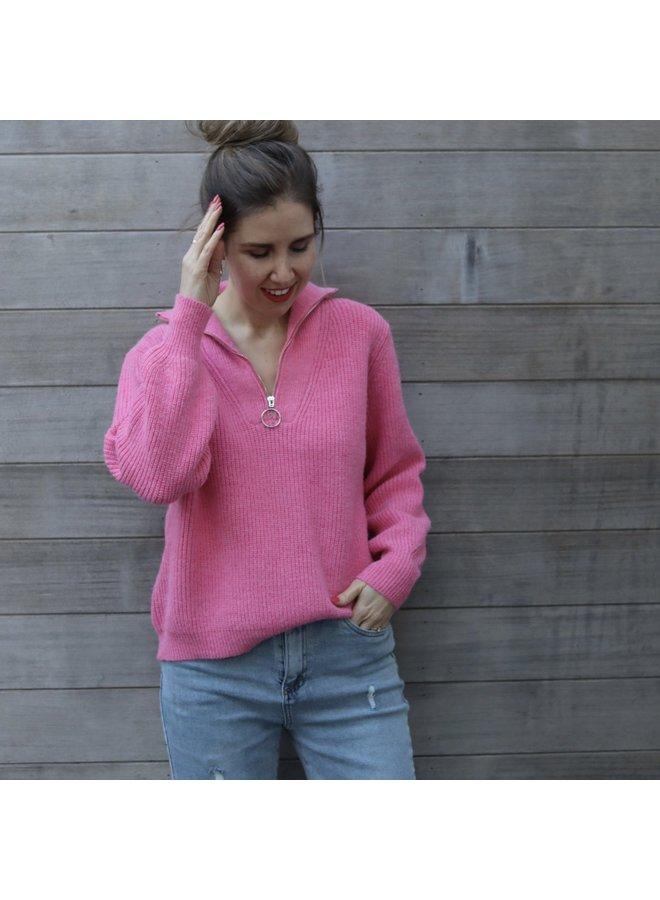 Knit Celeste Pink
