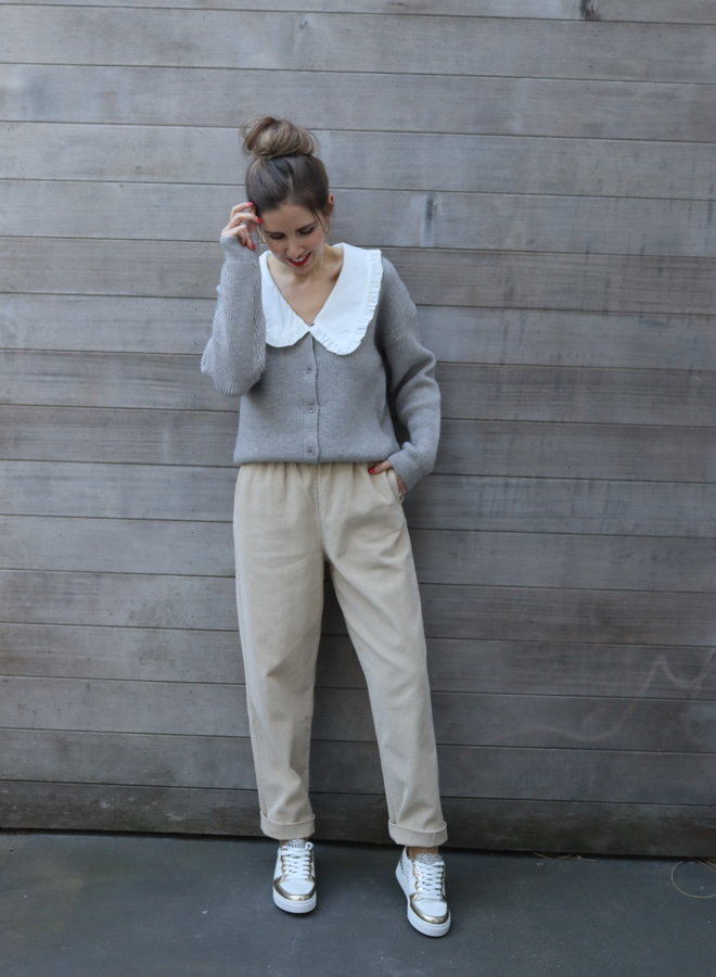 Knit Elena Gris