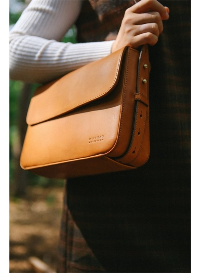 Gina bag cognac classic leather