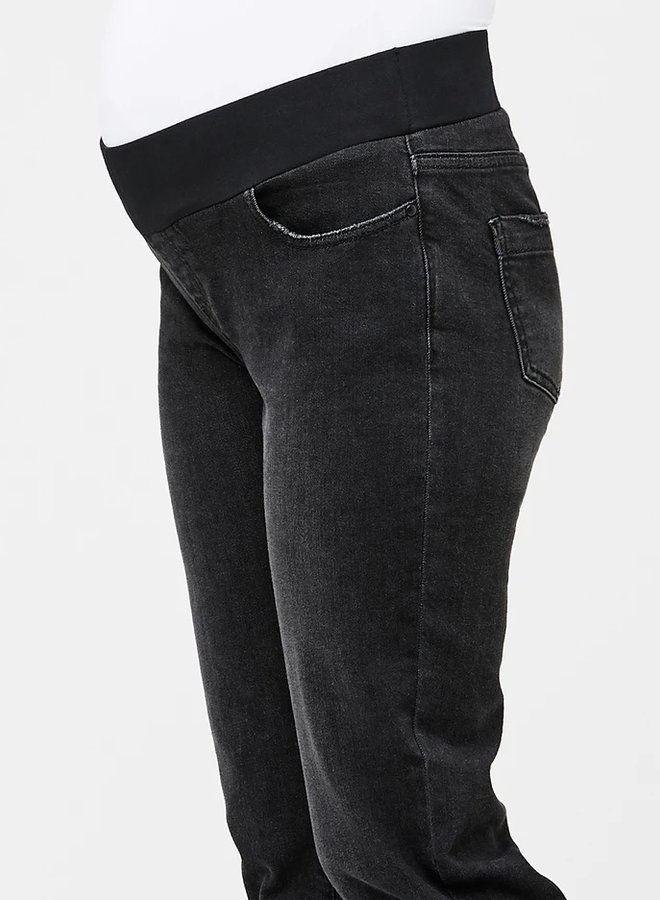 Jamie girlfriend jeans black