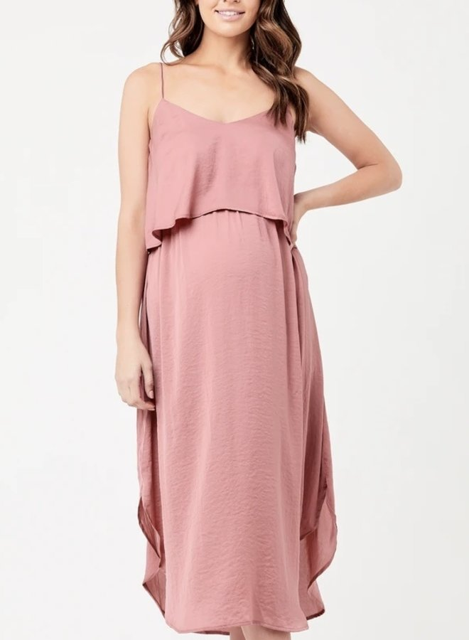Slip dress rose