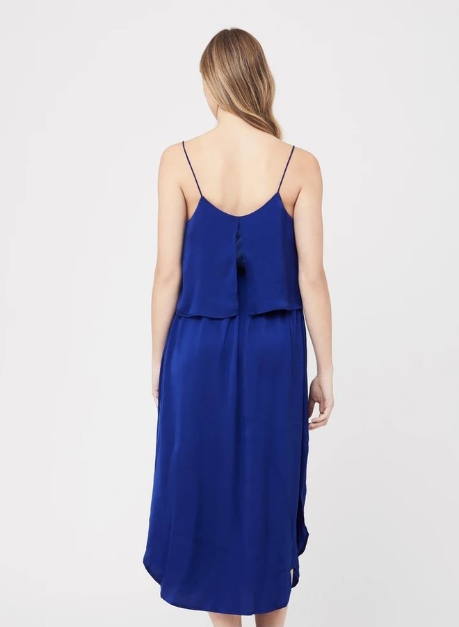Slip dress royal