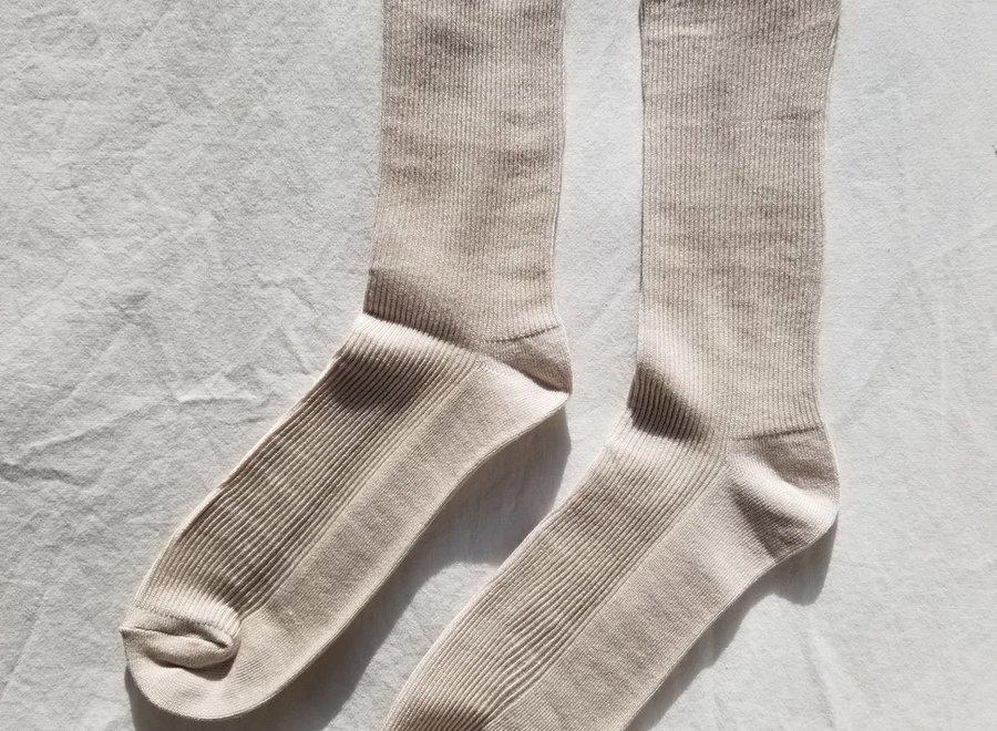 Trouser Socks Eggnog