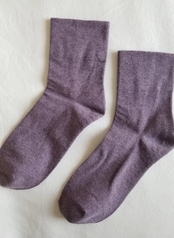 Sneaker Socks Lila