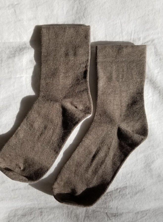 Sneaker Socks Cocao
