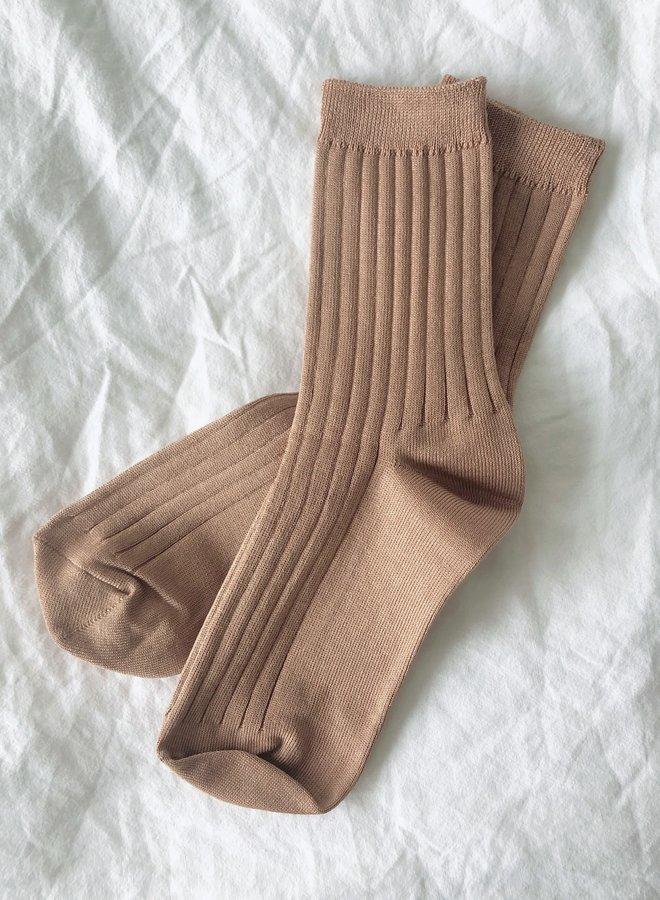 Her Socks Peanut Butter