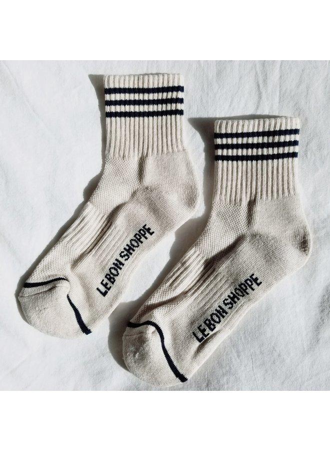Girlfriend Socks Oatmeal