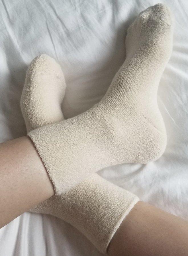 Cloud Socks Ecru