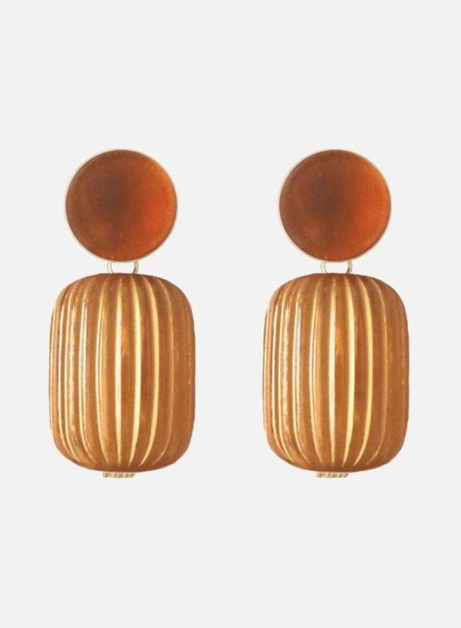 Oorbellen Camille copper