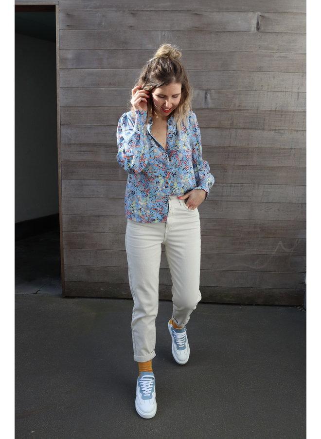 Santos blouse blue
