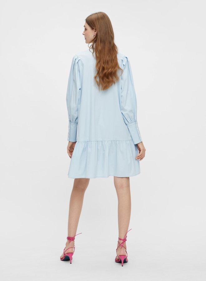 Migger dress pastel blue