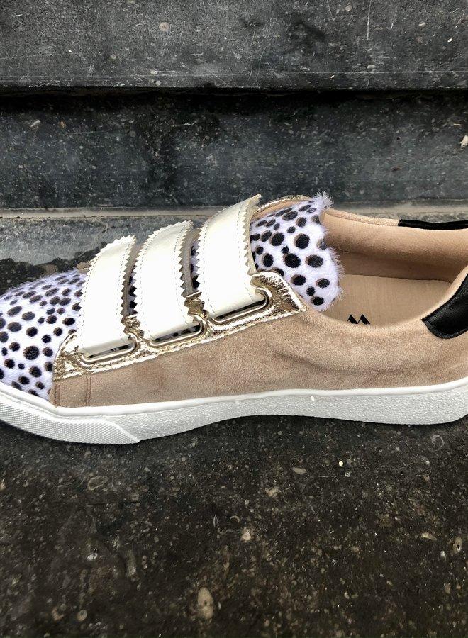 Sneakers beige  mix
