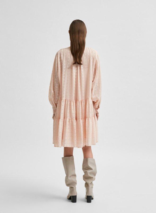 Slfmuni dress peach